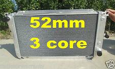 52mm 3 core aluminum radiator FORD FALCON EA EB ED 6CYL OR V8 1988-1994 AT/MT