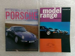 Porsche Sales Brochure 1993 & Porsche Autocar Book Speedster to 959 March 1995