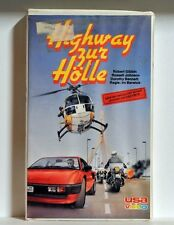 Highway zur Hölle 1977 Hitch Hike to hell VHS Rarität FSK 18