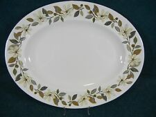 "Wedgwood Beaconsfield W4281 Bone China 13 3/4"" Oval Serving Platter"