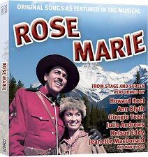 ROSE MARIE ORIGINAL SONGS FEATURED IN THE MUSICAL - CD