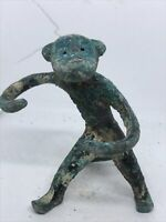 CIRCA 1000 BCE ANCIENT LURISTAN BRONZE MONKEY FIGURINE VERY RARE