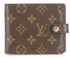 Authentic Louis Vuitton Monogram Coated Canvas Notebook Cover With Pencil