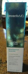 Proactiv Daily Oil Control Moisturizer SPF 30 Broad Sp Sunscreen 1.5 oz exp 8/20