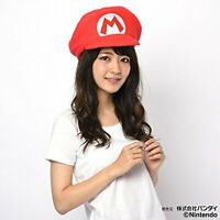 SAZAC Kigurumi Cap Super Mario Bros Mario Cosplay Costume Party Plush Kawaii F/S
