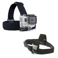 Kopfband Kopfhalterung elastischer / justierbarer Anti Rutsch Gurt für GoPro