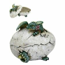 Dragon Hatchling with Cracked Egg Trinket Box