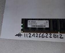 1GB DDR1 DDR PC3200 PC3200E 400MHZ 400 184PIN DIMM UNBUFFERED ECC LOW DENSITY