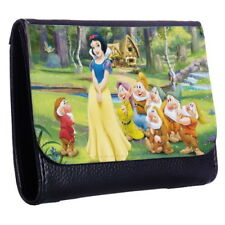 Snow White New Tri-Fold Wallet w/ Button Pocket p7_01 w2045
