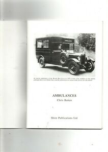 AMBULANCES BY CHRIS BATTEN SHIRE ALBUM No 328 ISSUED 1996 IN VG CLEAN CONDITION