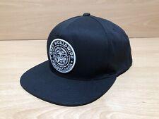 OBEY Snapback Baseball Cap | Black | Classic Patcth Cap Hat 5/6 Panel Skater VCG