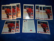 lot of 11 - 1990-91 Upper Deck #265 Andrew Cassels Star Rookie RC  NHL Hockey