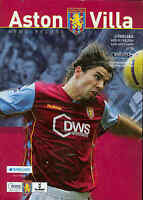 Aston Villa v Chelsea - Premiership - 1/2/2006 - Football Programme