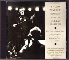Bruno Walter: Mahler la canzone dalla terra CD Charles Kullman Kerstin Thorborg