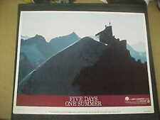 FIVE DAYS ONE SUMMER, orig LCS (Sean Connery)