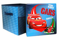 NEW: Cars 2 Childrens Kids Toys Bedroom Storage Seat Stool Chair Box