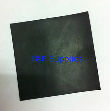 Solid Neoprene Rubber Gasket Sheet 130mm x 130mm x 3mm thick