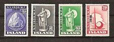 ICELAND # 232-5 MNH NEW YORK WORLD'S FAIR 1940
