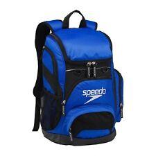 SPEEDO TEAMSTER BACKPACK SWIMMING GYM KIT BAG ROYAL BLUE RUCKSACK NEW