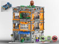 Modular Patisserie - MOC - PDF Bauanleitung - kompatibel mit LEGO Steine