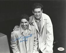 PHIL RIZZUTO SIGNED 8x10 PHOTO HOF 94 TED WILLIAMS VERY YOUNG AWESOME JSA RARE