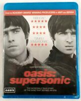 Oasis: Supersonic NEW Blu-Ray Disc - Oasis, Liam Gallagher, Noel Gallagher