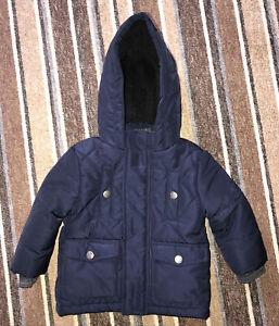 Baby Boy's - Coat Age 6-9 Months - Navy Blue  - Primark - Fabulous ❤️