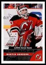 2013-14 Score Martin Brodeur #NO.588
