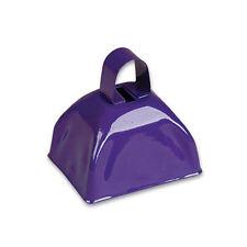 Purple Metal Cowbells (12 Pack) Party Cowbell Noisemakers 1 Dozen