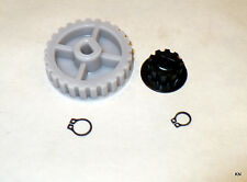 Kirby Motor and Transmission Gears with Clips. Fits Late Diamond to Avalir.