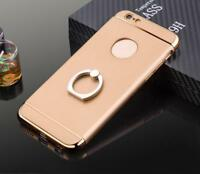 Hard Phone Case Protector With Ring Holder For iPhone 5 6 6S 6 Plus 7 7 Plus
