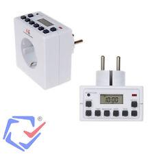 Interruptor Temporizador eléctrico diario semanal 3600W 220/240V 16A Programador