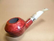 pipe passatore pipe - Naturel / Anneau chromé - mod. 1516 -
