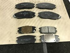FOR HYUNDAI TERRACAN 2.9CRDI 12/2003 -2007 DISC BRAKE PADS FRONT REAR