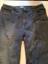 Coldwater Creek Misses women 12 Blue Denim 1% Spandex  Boot Cut Jean