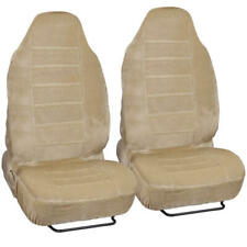 Luxurious Soft and Comfortable High Back Seat Cover Set for Car Truck SUV - 4 PC