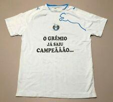 Vintage 2008 PUMA Gremio FBPA Brazil Brasil Soccer Jersey T-Shirt Adult Size L
