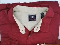 3XL (XXXL) Wrangler Men's Long Sleeve Heavy Duty Flannel SHIRT, RED, BUTTONS.
