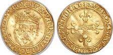 LOUIS XII Écu d'or au soleil 25/04/1498 Châlons-en-Champagne Dy.647