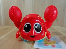 Little Tikes Ocean Explorers CATCH ME CRABBIE Red Crab Toy Baby Crawl Chase