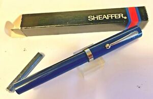 Sheaffer No-Nonsense RED Italic Broad Cartridge Fill Pen