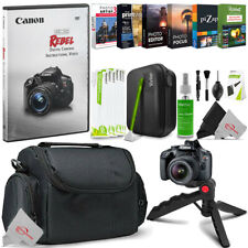 Deluxe Accessories Kit for Canon with Camera Photography Course