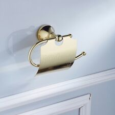 Gold Color Brass Toilet Roll Paper Holder Bathroom Hardware Accessories GD871