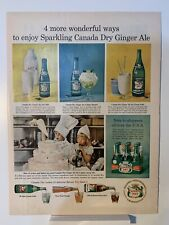 1954 Canada Dry Ginger Ale - Rath Meatballs - Magazine Ad
