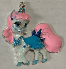 "PALACE PETS BIBBIDY HORSE 2"" Enamel Charm Pendant Backpack Favors Jewelry Crafts"