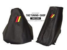 For Bmw 5 E60 E61 03-06 Gear & Handbrake Gaiter Leather M3/// German Embroidery
