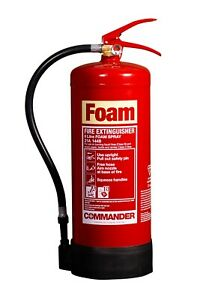 NEW 6 LTR FOAM FIRE EXTINGUISHER