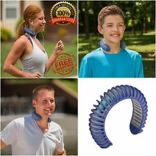 Neck Cooling Air Cooler Band Personal Body Belt Summer System Amazing