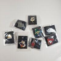 Lot of 8 Enamel Hat Lapel Pins Utah Wendys Coca-Cola Pathfinder More
