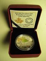 2015 Proof $20 Butterflies of Canada #3-Colias Gigantea .9999 silver twenty doll